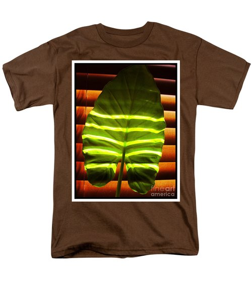 Men's T-Shirt  (Regular Fit) featuring the photograph Stripes Of Light by Nina Ficur Feenan