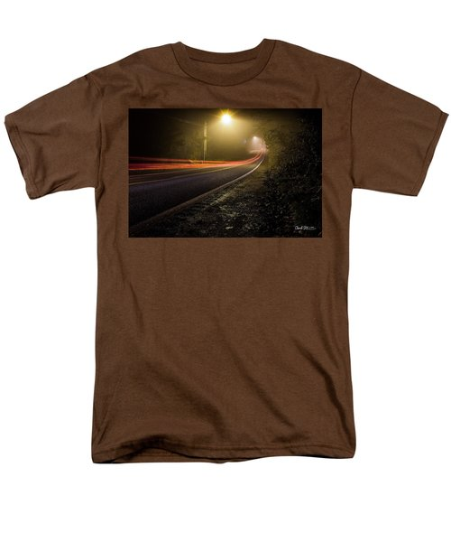 Suburbian Night Men's T-Shirt  (Regular Fit)