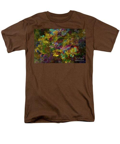 Men's T-Shirt  (Regular Fit) featuring the digital art Summer Burst by Olga Hamilton