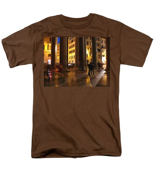 Summer Evening In Rome Men's T-Shirt  (Regular Fit) by Evelyn Tambour