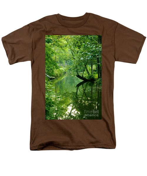 Summer Stream Men's T-Shirt  (Regular Fit)