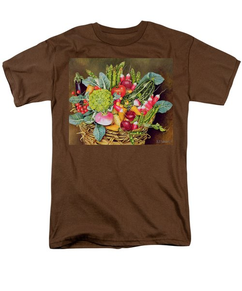 Summer Vegetables Men's T-Shirt  (Regular Fit) by EB Watts