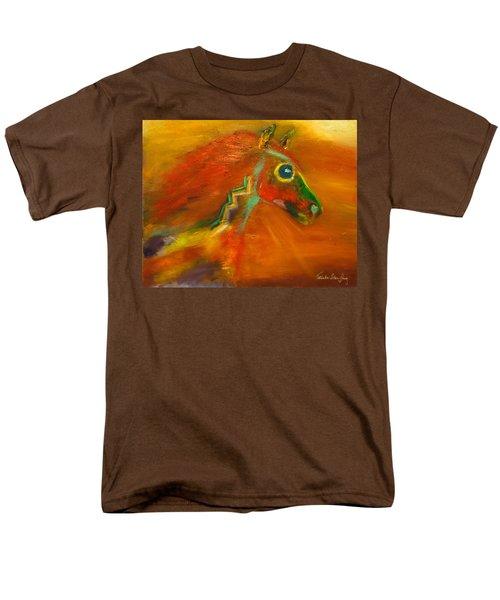 Men's T-Shirt  (Regular Fit) featuring the painting Sun Dance by Barbie Batson