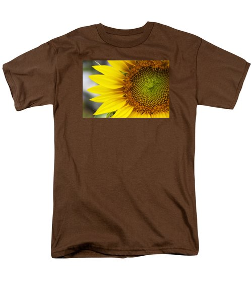Sunflower Face Men's T-Shirt  (Regular Fit) by Shelly Gunderson