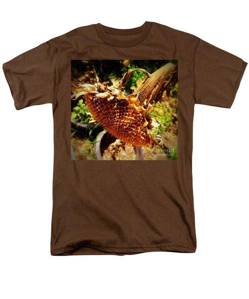 Men's T-Shirt  (Regular Fit) featuring the photograph Sunflower Seedless 1 by James Aiken