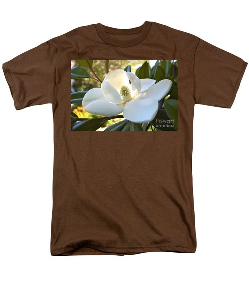 Sunlit Southern Magnolia Men's T-Shirt  (Regular Fit)