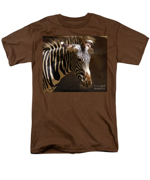 Men's T-Shirt  (Regular Fit) featuring the photograph Sunlit Stripes by Linda Shafer