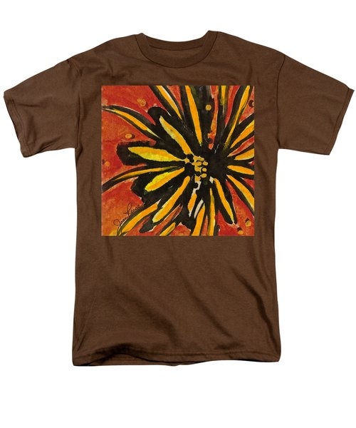 Men's T-Shirt  (Regular Fit) featuring the painting Sunny Hues Watercolor by Joan Reese