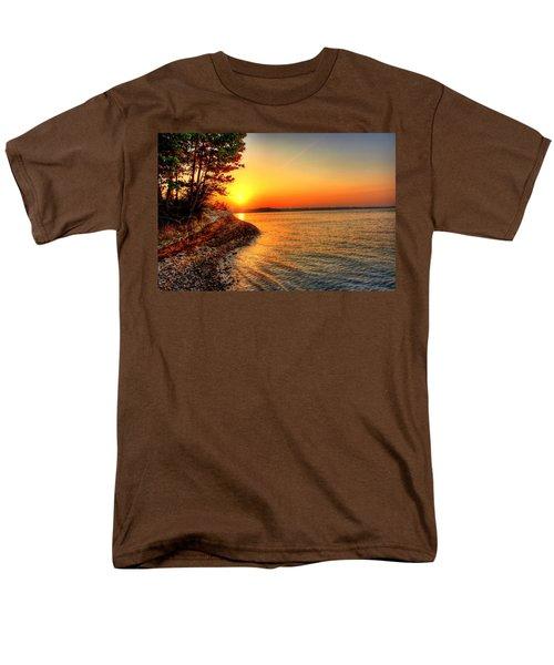 Sunrise Around The Bend Men's T-Shirt  (Regular Fit)