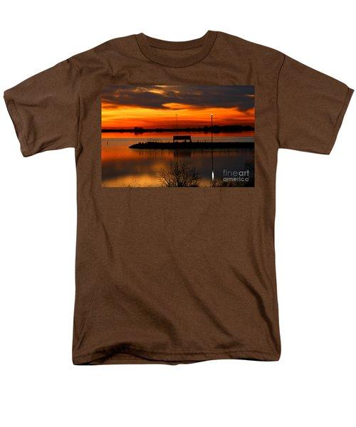 Sunrise At Jackson Men's T-Shirt  (Regular Fit) by Steven Reed