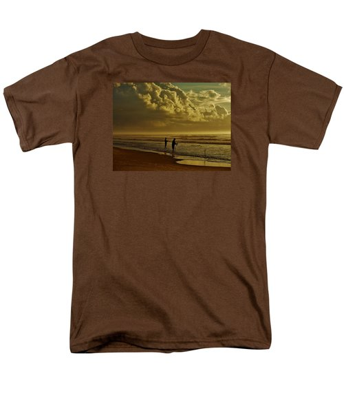 Sunrise Surf Fishing Men's T-Shirt  (Regular Fit) by Ed Sweeney