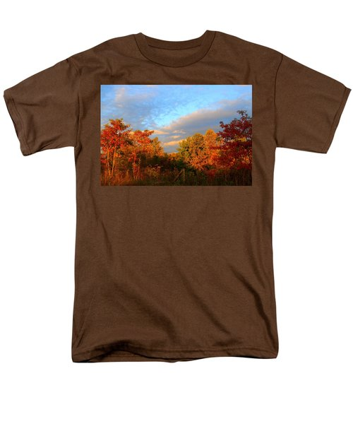 Men's T-Shirt  (Regular Fit) featuring the photograph Sunset Glow by Kathryn Meyer