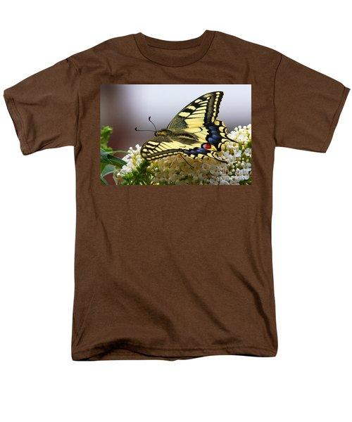 Swallowtail Butterfly Men's T-Shirt  (Regular Fit) by Nick  Biemans