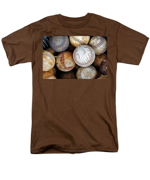 Men's T-Shirt  (Regular Fit) featuring the photograph Take Me Out To The Ball Game by Jean Goodwin Brooks