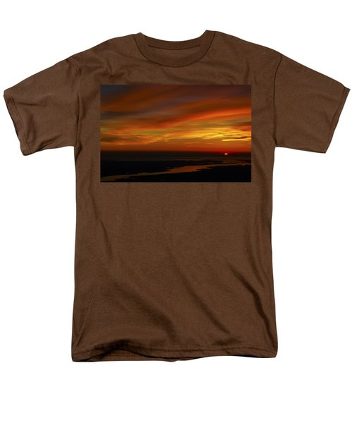 Rappahannock Sunrise II Men's T-Shirt  (Regular Fit) by Greg Reed