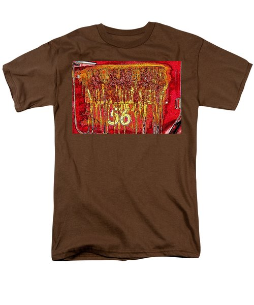 Tarkington Vol Fire Dept 56 Men's T-Shirt  (Regular Fit) by Bartz Johnson