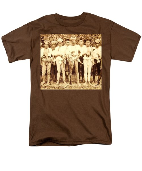 Men's T-Shirt  (Regular Fit) featuring the photograph Tausug Tribe Members - Moros by Roberto Prusso