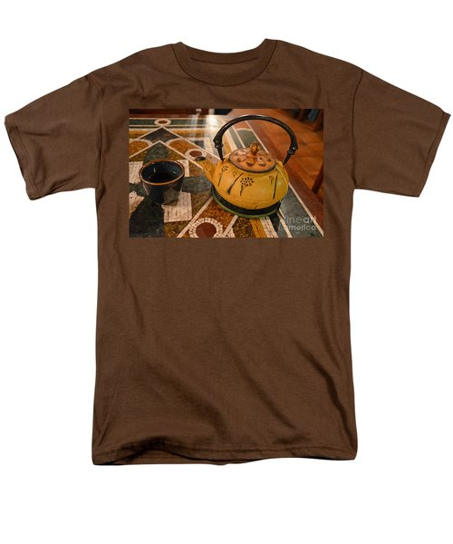 Men's T-Shirt  (Regular Fit) featuring the photograph Tea Time In Asia by Robert Meanor