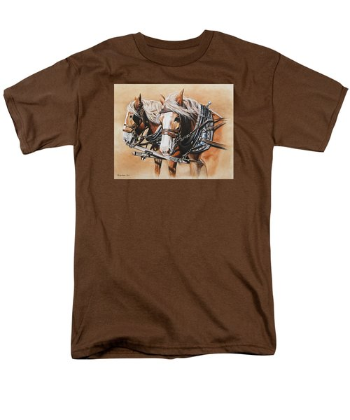 Ted And Tom Men's T-Shirt  (Regular Fit) by Kim Lockman