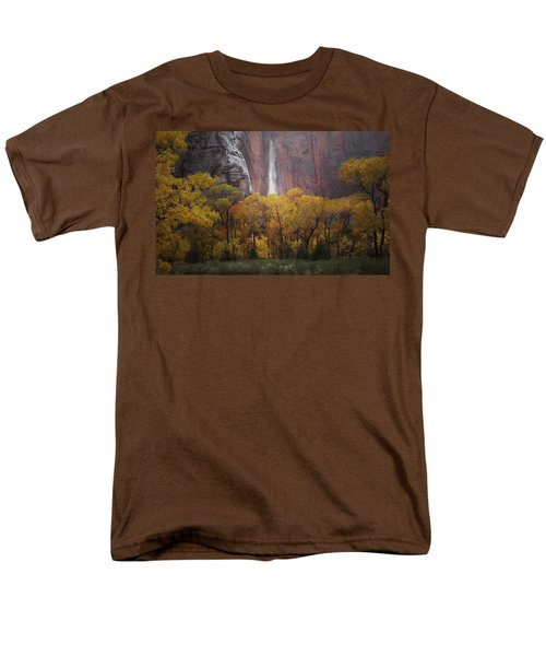 Temple Of Sinewava 1 Men's T-Shirt  (Regular Fit) by Susan Rovira