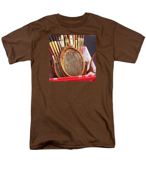 Tennis Anyone Men's T-Shirt  (Regular Fit) by Art Block Collections