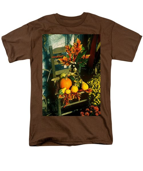 The Autumn Chair Men's T-Shirt  (Regular Fit) by Rodney Lee Williams