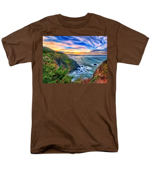 The Beauty Of Big Sur Men's T-Shirt  (Regular Fit) by Michael Pickett