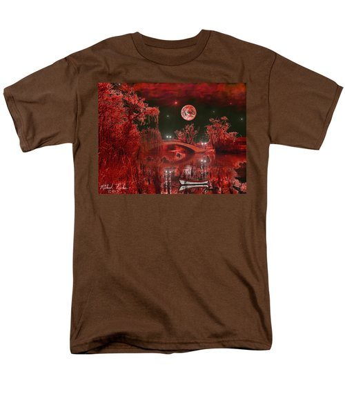 Men's T-Shirt  (Regular Fit) featuring the photograph The Blood Moon by Michael Rucker
