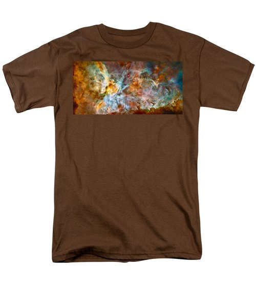 The Carina Nebula - Star Birth In The Extreme Men's T-Shirt  (Regular Fit) by Marco Oliveira