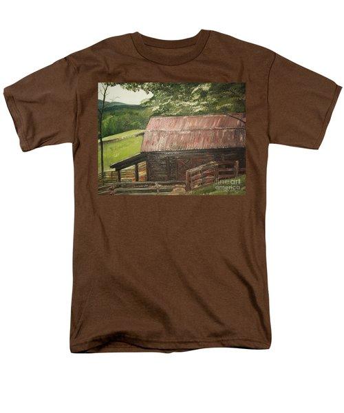 The Cherrys Barn Men's T-Shirt  (Regular Fit) by Jan Dappen