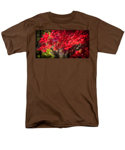 Men's T-Shirt  (Regular Fit) featuring the photograph The Color Of Fall by Patrice Zinck