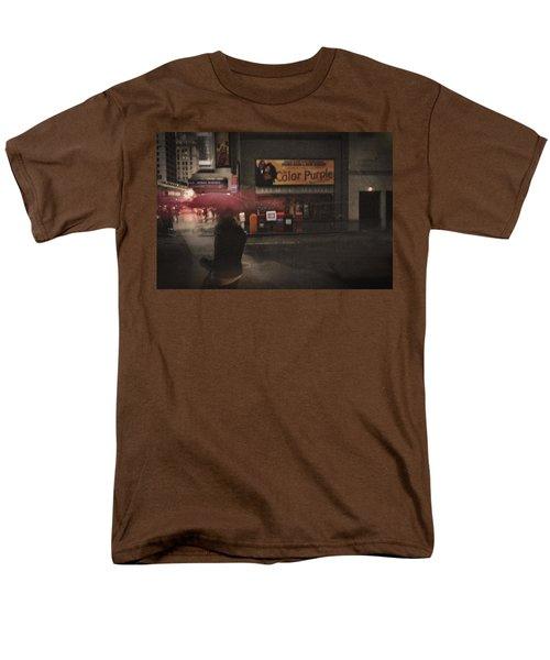 The Color Purple Men's T-Shirt  (Regular Fit) by Linda Unger