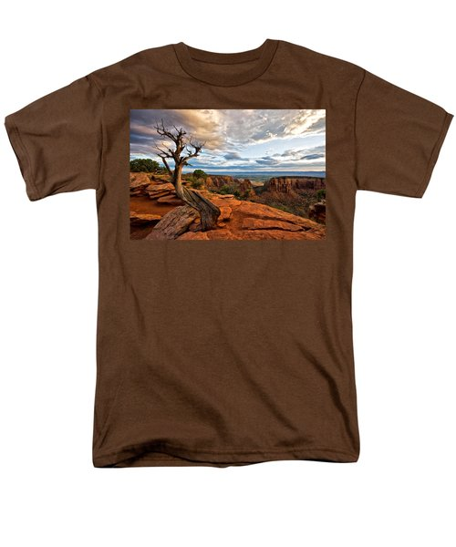 The Crooked Old Tree Men's T-Shirt  (Regular Fit) by Ronda Kimbrow