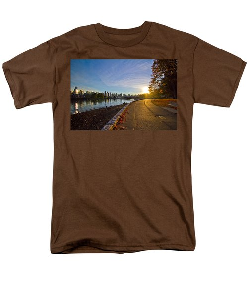 Men's T-Shirt  (Regular Fit) featuring the photograph The Emerald City by Eti Reid