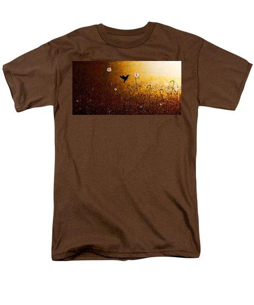 The Flight Of A Hummingbird Men's T-Shirt  (Regular Fit) by Carmen Guedez
