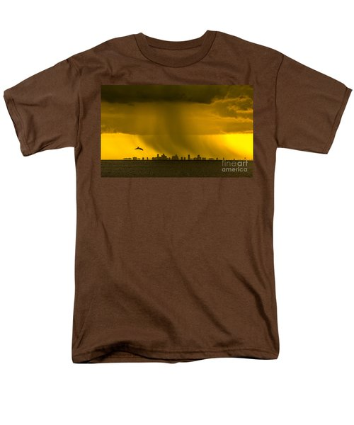 The Floating City  Men's T-Shirt  (Regular Fit) by Marvin Spates