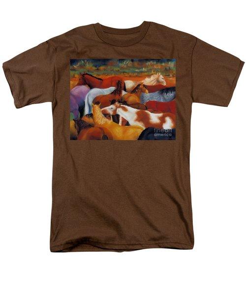 The Gathering Men's T-Shirt  (Regular Fit) by Frances Marino