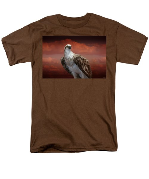 The Glory Of An Eagle Men's T-Shirt  (Regular Fit) by Holly Kempe