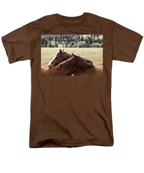 The Hug Men's T-Shirt  (Regular Fit)
