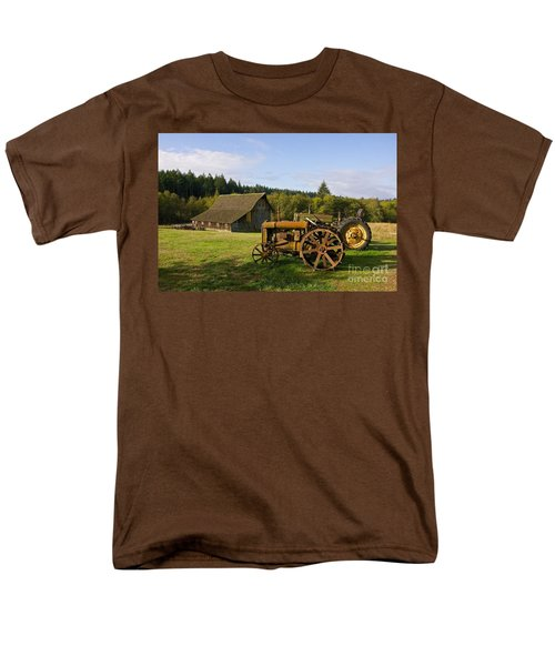 Men's T-Shirt  (Regular Fit) featuring the photograph The Johnson Farm by Sean Griffin