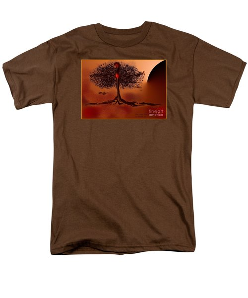 The Last Tree Men's T-Shirt  (Regular Fit) by The Art of Alice Terrill