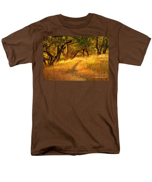 The Late Afternoon Walk Men's T-Shirt  (Regular Fit) by Roselynne Broussard