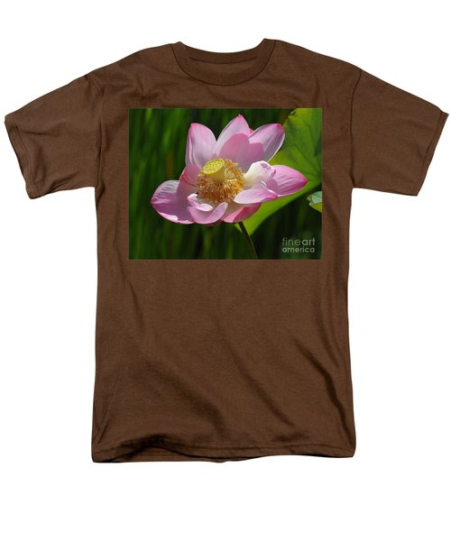 Men's T-Shirt  (Regular Fit) featuring the photograph The Lotus by Vivian Christopher