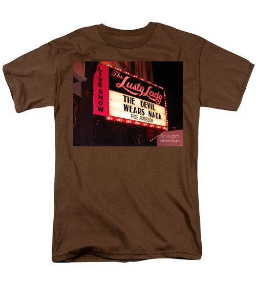 Men's T-Shirt  (Regular Fit) featuring the photograph The Lusty Lady by Kym Backland