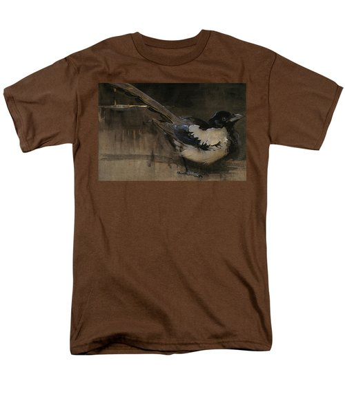 The Magpie Men's T-Shirt  (Regular Fit) by Joseph Crawhall