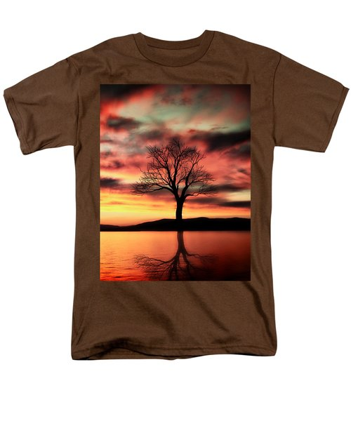 The Memory Tree Men's T-Shirt  (Regular Fit) by Ally  White
