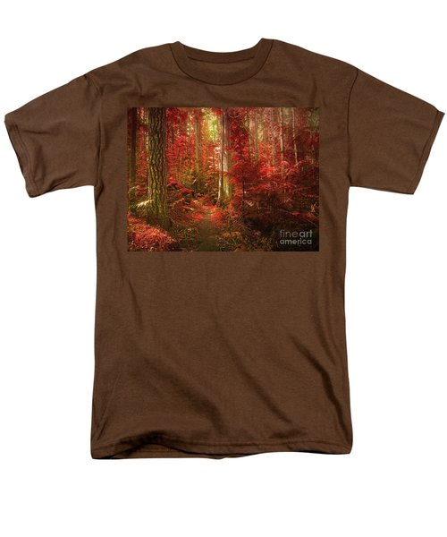 The Mystic Forest Men's T-Shirt  (Regular Fit) by Tara Turner