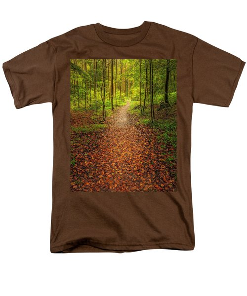 Men's T-Shirt  (Regular Fit) featuring the photograph The Path by Maciej Markiewicz