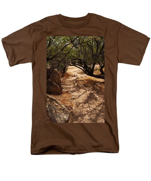 The Path Men's T-Shirt  (Regular Fit) by Michael McGowan