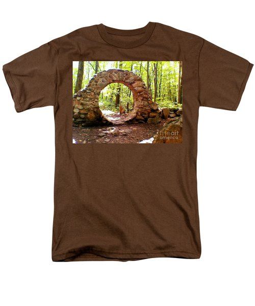The Portal To Love Life Peace Men's T-Shirt  (Regular Fit) by Becky Lupe